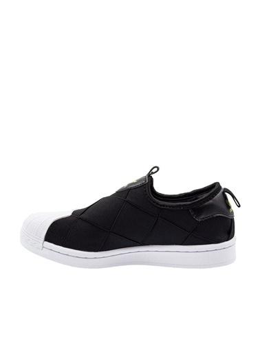 adidas Adidas Kadın Günlük Spor Ayakkabı Superstar Slip On W Fv3187 Siyah